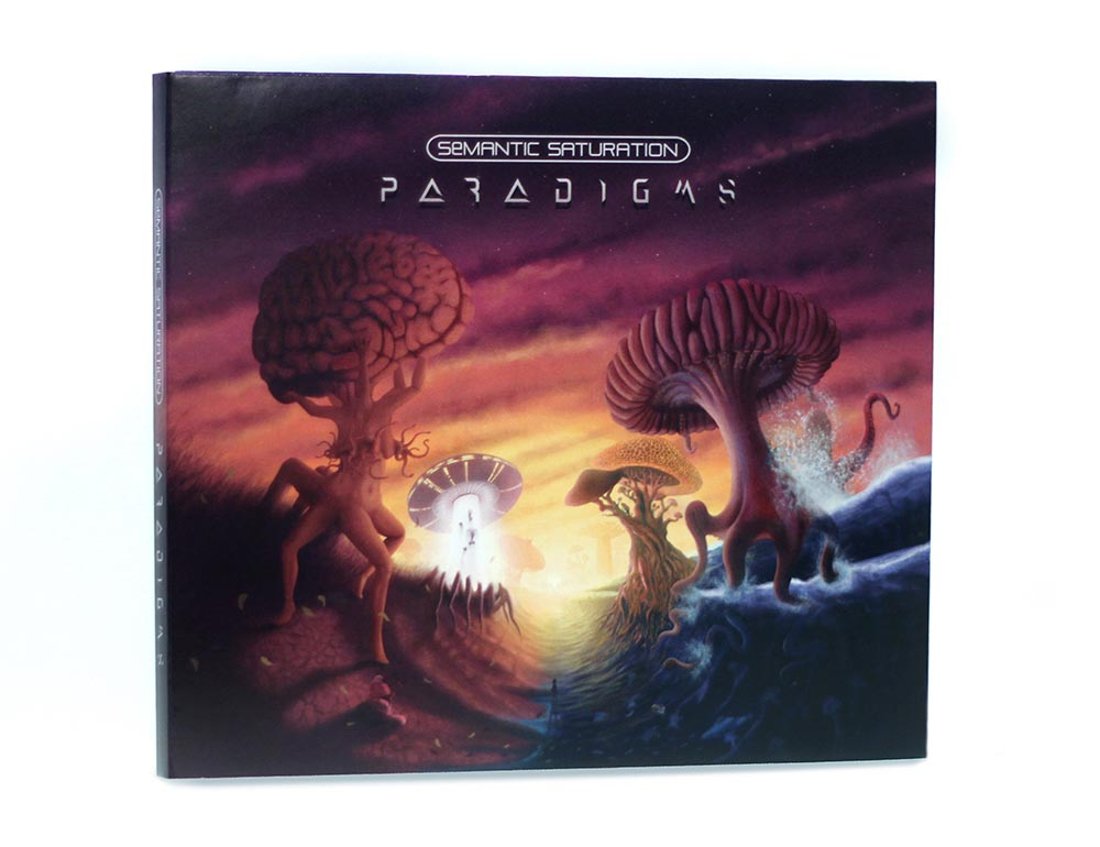 Paradigms CD 6 panel Digipak cover