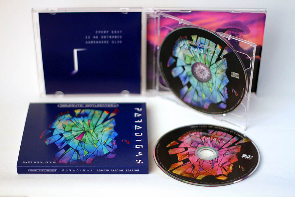 Paradigms Special Edition CD&DVD Inside View