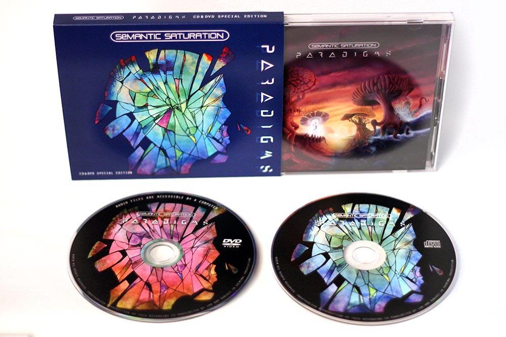 Paradigms Special Edition CD&DVD with Jewel Case slide-in